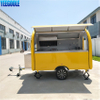 YG-LSS-01 YEEGOOLE China Factory Commercial Solar Power Used Concession Fast Food Trailer Mobile Food Trailer FOOD CART