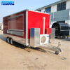 YG-FPR-04 Standard Mobile Food Cart Food Catering Trailer for Coffee Ice Cream