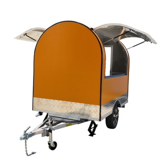 YG-FPR-02 Top Quality Customized Made Mobile Food Churros Trailer/Burger Food Trailer