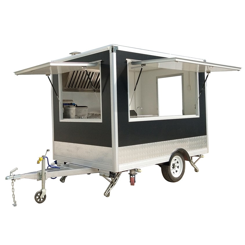 YG-FPR-04 2020 Customized Food Cart Australian Mobile Fast Food Van Design Food Truck for Sale