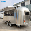 YG-TZ-66 Street Snack Vending Trailer Coffee Trailer,shawarma Trailers Mobile Food Trucks for Sale