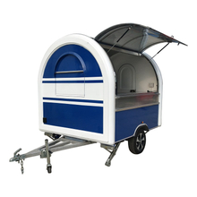 YG-LSS-01 YEEGOOLE Catering Trailer Mobile Kitchen Kiosk Kitchen on Wheels Ice Cream Trailer Price Bbq Truck Catering Van CE