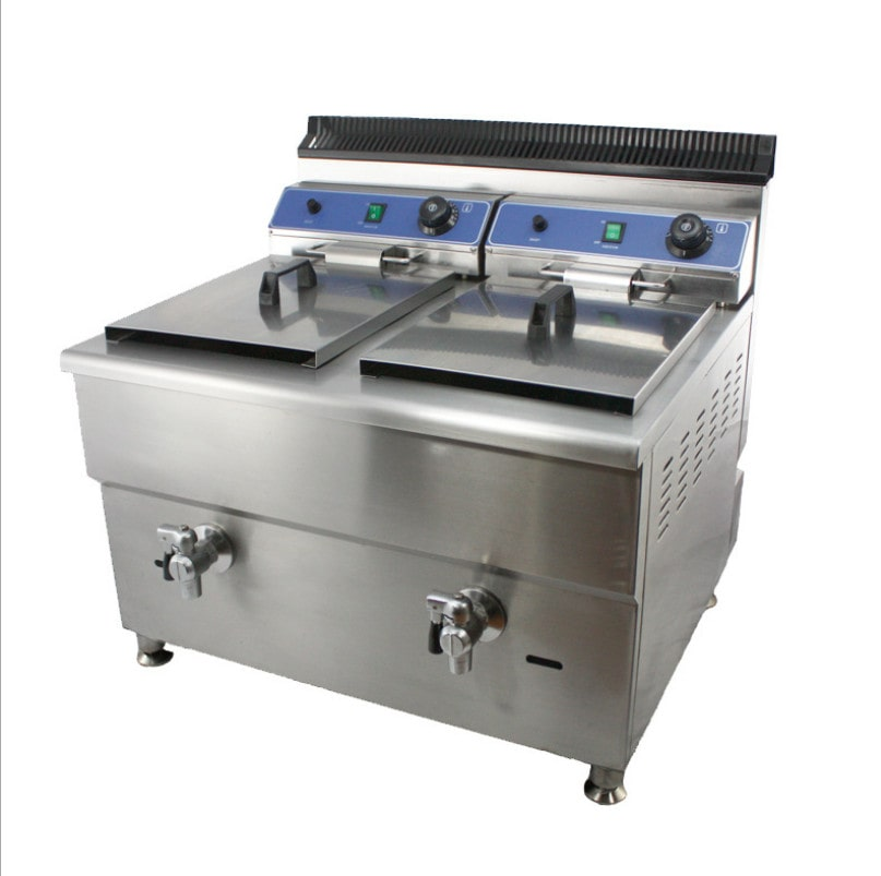 Gas fryer,Double cylinder fryer,Single tank fryer