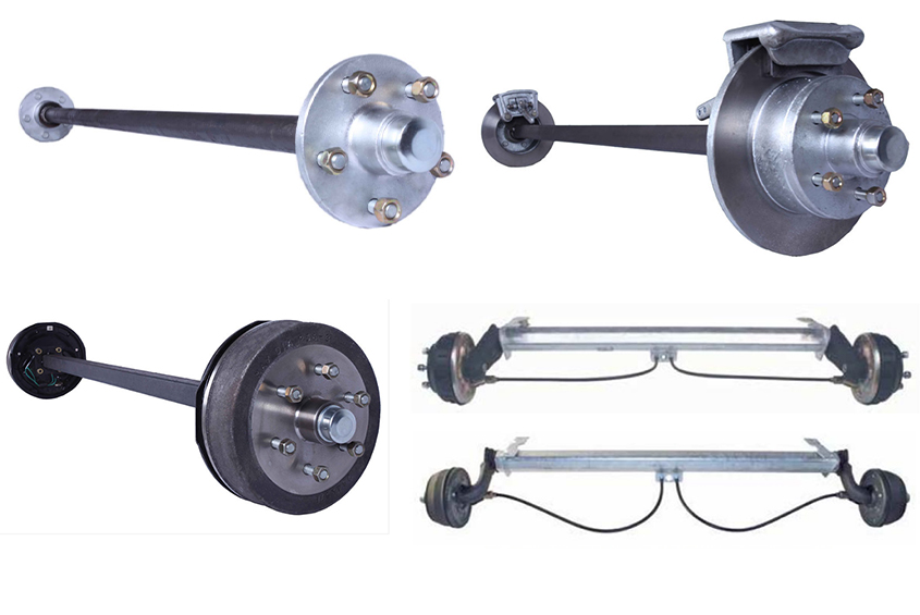 Different Styles of Axle