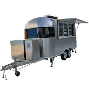 YG-TZ-66 Professional Street Food Cart Mobile Kitchen Food Truck with Equipped in Mobile Food Trailer Hot Dog Cart