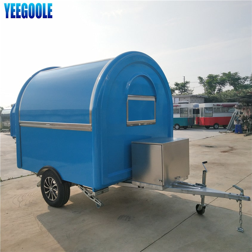 YG-LSS-01 Magnificent Mall Food Koisk, Food trailer Food Kiosk Snack Coffee Booth with Customize Design