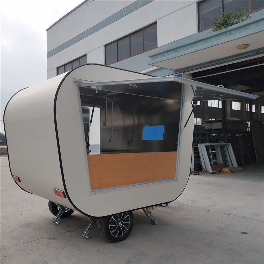 YG-FPR-01 Food Van Coffee Trailer Food Concession Trailers Sale Used Food Trucks for Sale