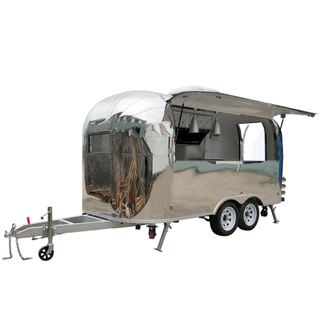 YG-TZ-66 2020 hot mobile fast Ice Cream Coffee Hot Dog BBQ food van for sale