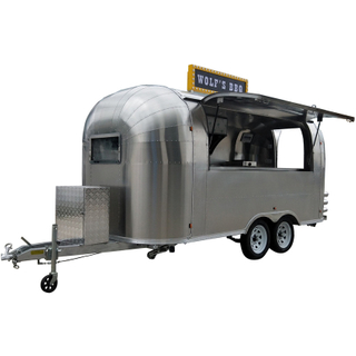 YG-TZ-66 New Mobile Food Cart Ice Cream Coffee Vending Cart For Sale