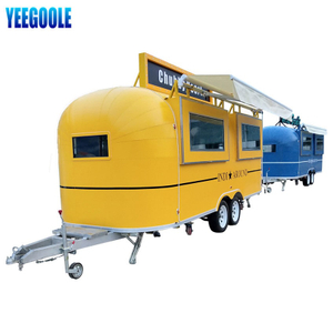 YG-TZ-66 Selling Fast Street Fast Food Truck for Sale with Stainless Steel