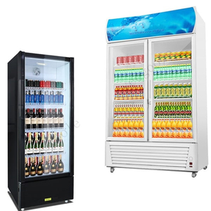 Vertical Glass Freezer Glass Freezer Single Door Freezer Double Door Freezer Three-door Freezer